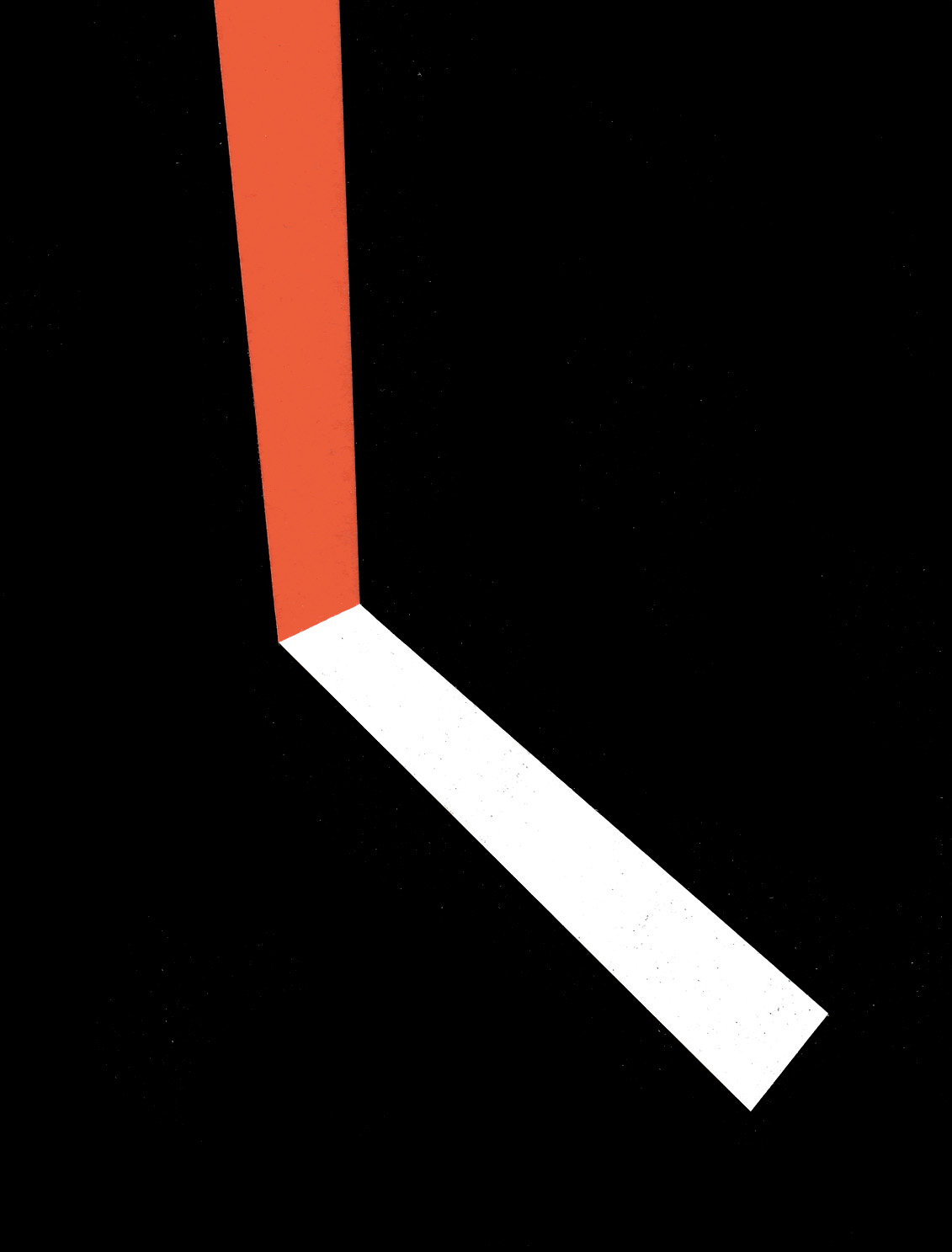 Shift, cut paper collage, Mike Tedder