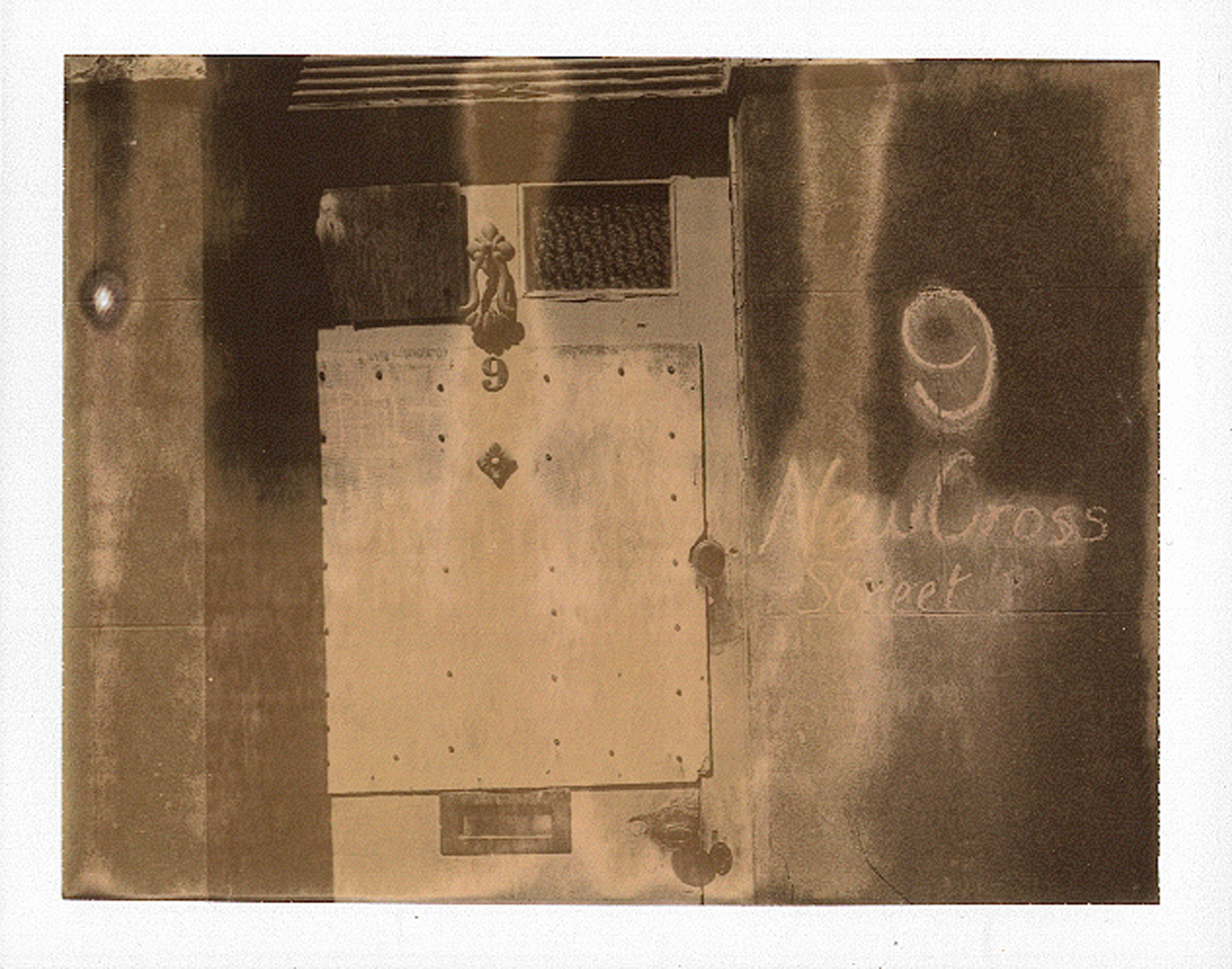Polaroid 250 camera, Chocolate type100 print, Mike Tedder