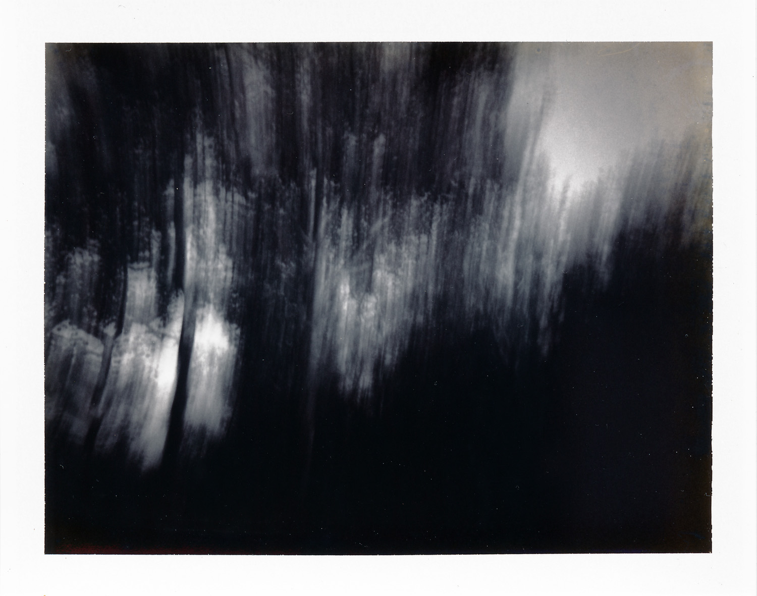 Original polaroid pinhole 664 type100 print, Mike Tedder
