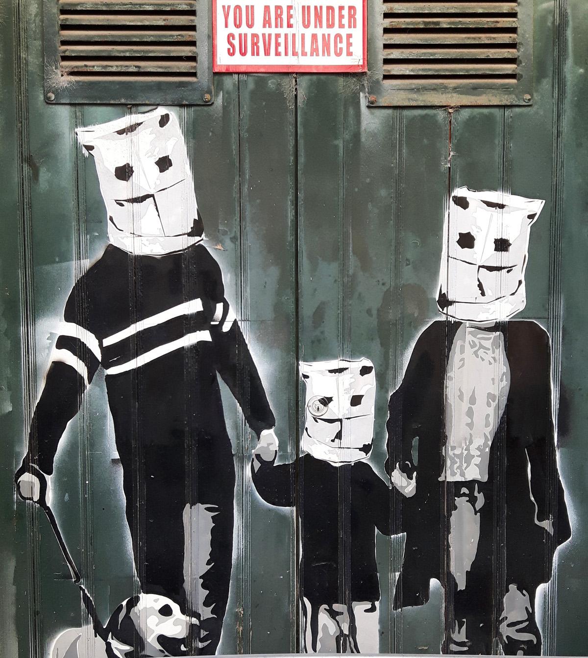 Masks, print edition, Mike Tedder