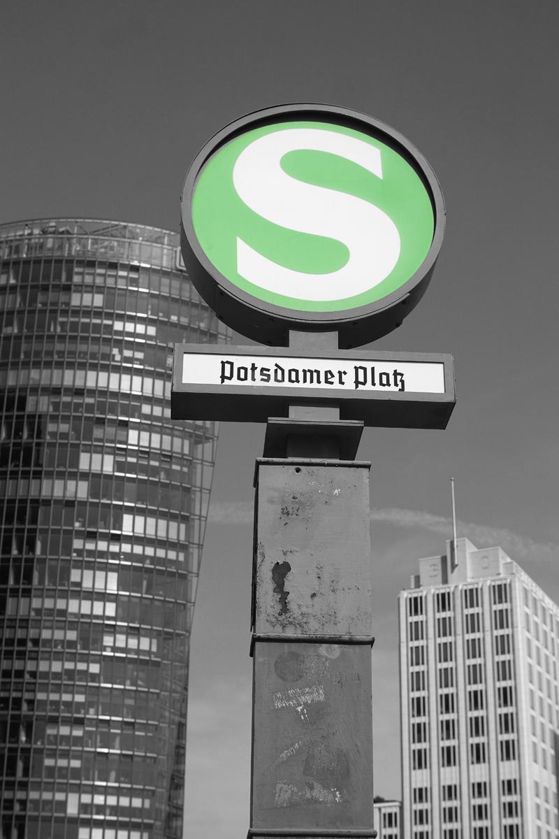 Potsdamer Platz, c-type print, Mike Tedder