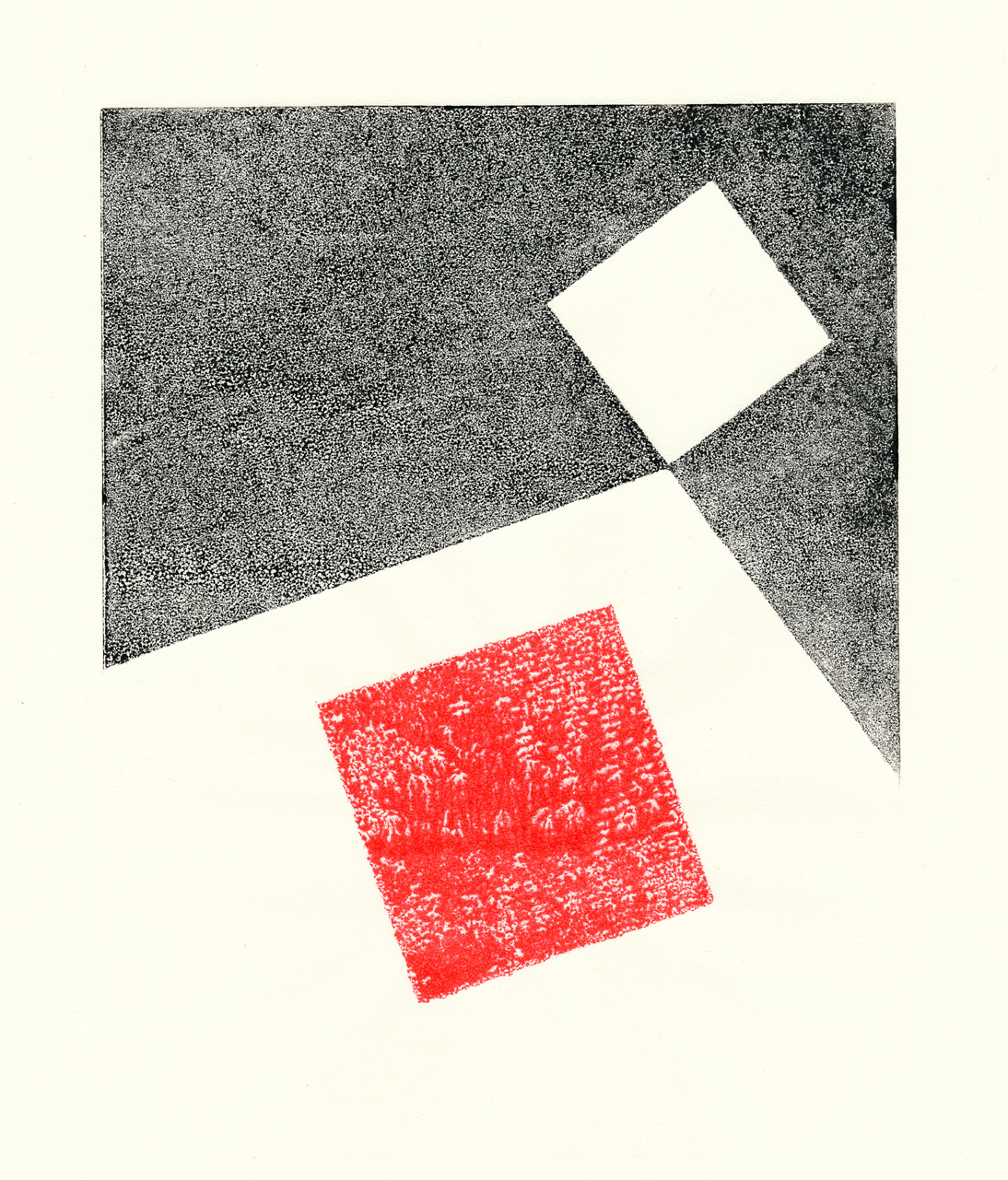 Home, Three Monoprints I, Mike Tedder