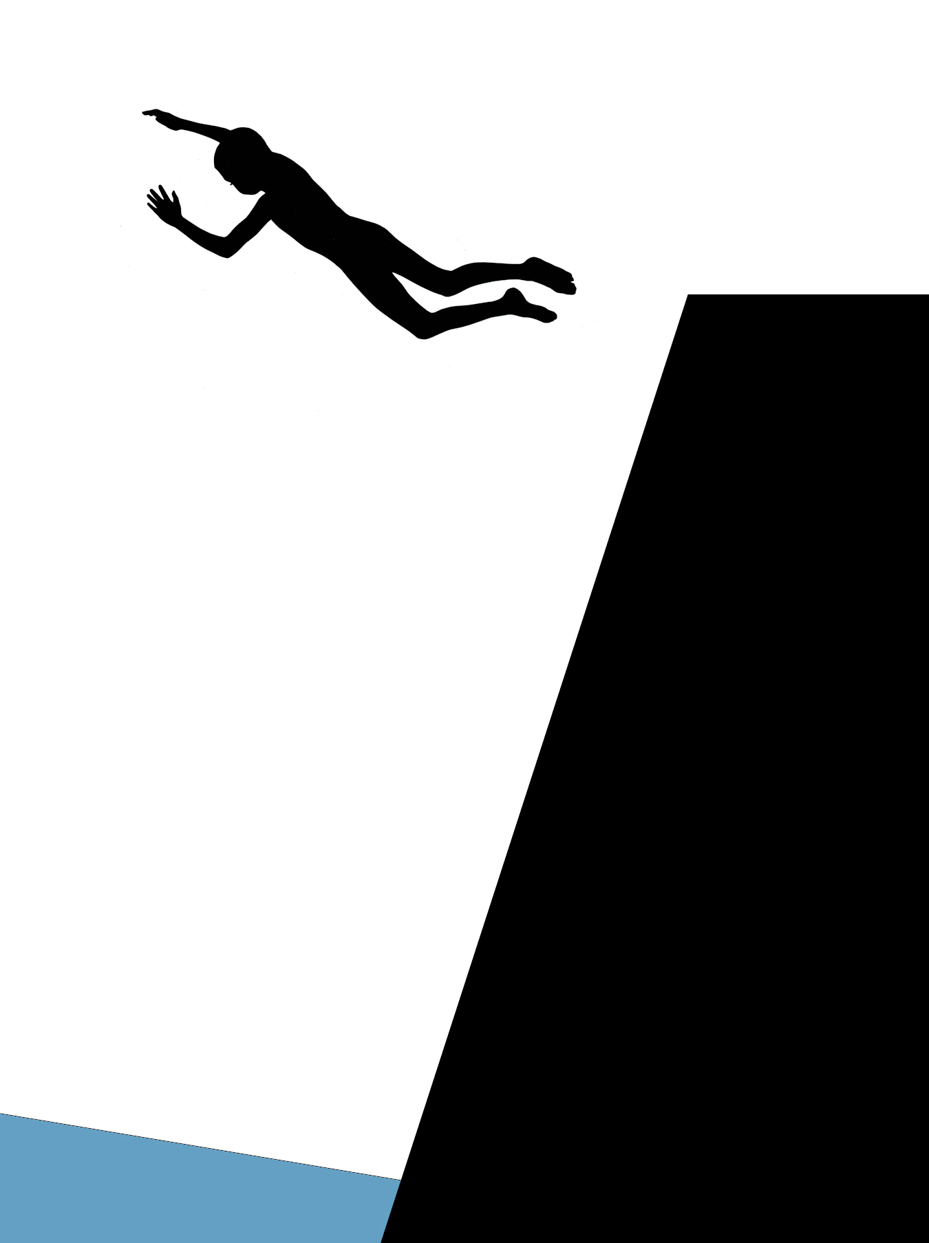 True Faith, cut paper collage, Mike Tedder
