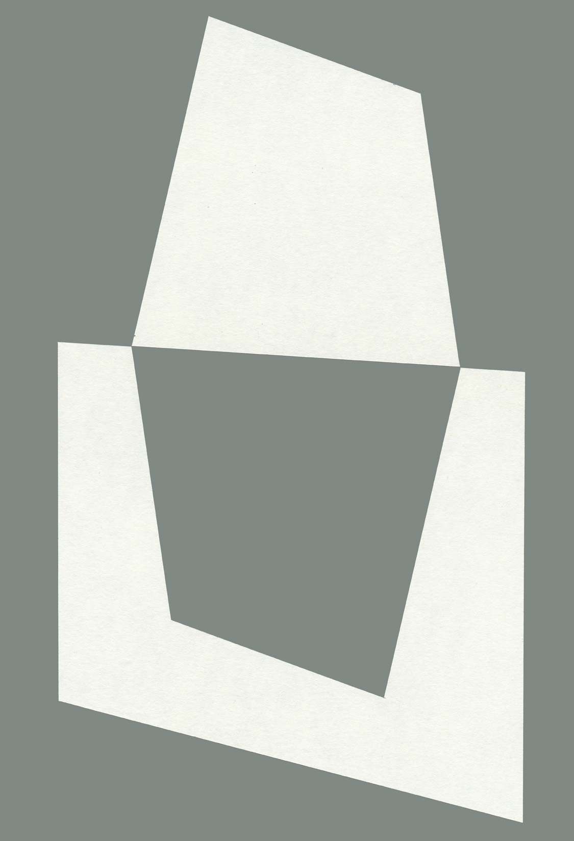 Sol y Sombra, cut paper, Mike Tedder