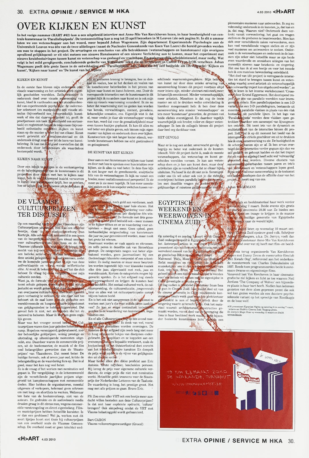 Head, frottage on newsprint, Mike Tedder