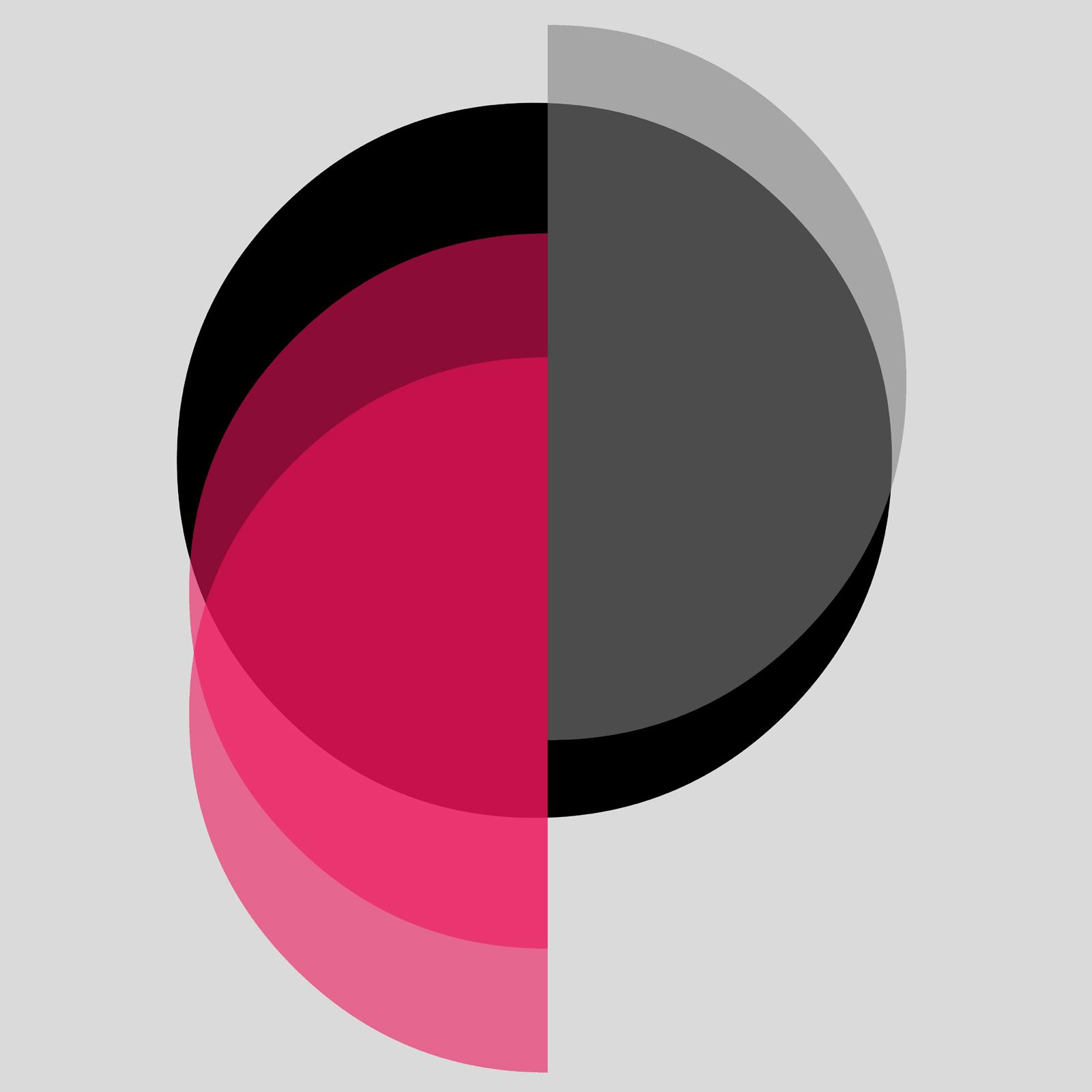 Hemispheres, digital collage, Mike Tedder