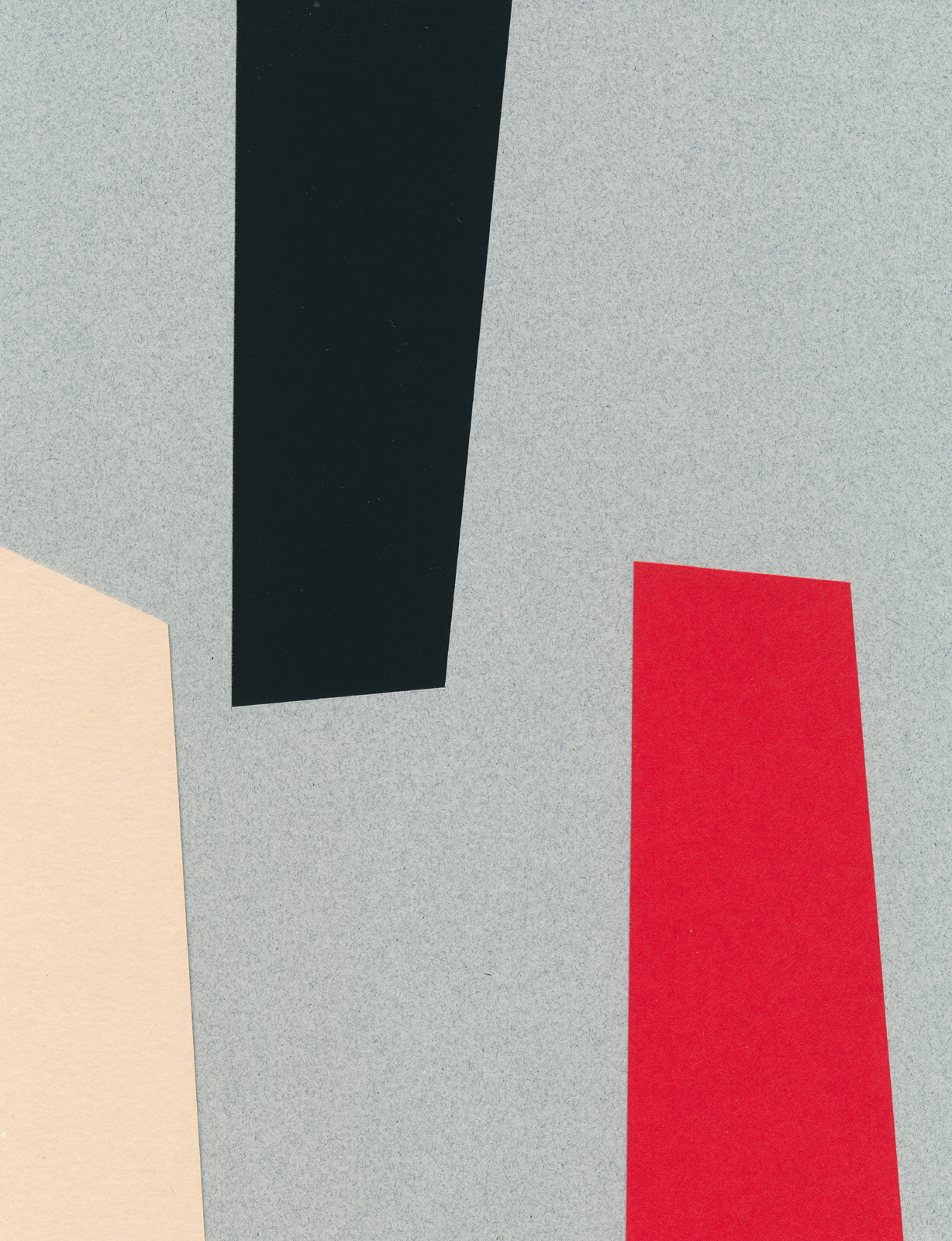 Interplay, paper-cut collage